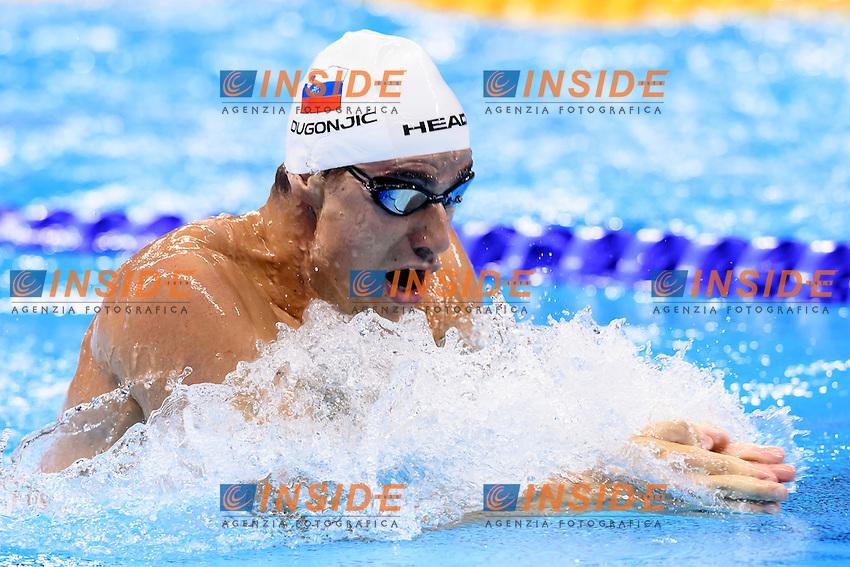 DUGONJIC Damir SLO <br /> 100m Breaststroke Men <br /> Rio de Janeiro 06-08-2016 Olympic Aquatics Stadium <br /> Swimming Nuoto <br /> Foto Andrea Staccioli/Deepbluemedia/Insidefoto