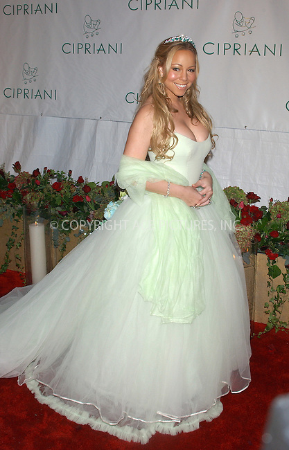 WWW.ACEPIXS.COM . . . . . ..NEW YORK, NOVEMBER 4, 2004: Mariah Carey arriving at Sean 'P. Diddy' Combs Birthday Bash at Cipriani Wall Street. Please byline: ACE006 - ACE PICTURES.. . . . . . ..Ace Pictures, Inc:  ..Alecsey Boldeskul (646) 267-6913 ..Philip Vaughan (646) 769-0430..e-mail: info@acepixs.com..web: http://www.acepixs.com