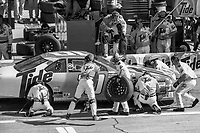 Ricky Rudd makes a pit stop, Daytona 500, NASCAR Winston Cup race, Daytona International Speedway, Daytona Beach, FL, February 1994(Photo by Brian Cleary/bcpix.com)