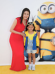 Yuki Amami attends Universal Pictures L.A. Premiere of Minions held at The Shrine Auditorium  in Los Angeles, California on June 27,2015                                                                               © 2015 Hollywood Press Agency