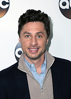 PASADENA, CA - JANUARY 8- Zach Braff, at Disney ABC Television Group Hosts TCA Winter Press Tour 2018 at the Langham Hotel in Pasadena, California on January 8, 2018. <br /> CAP/MPI/FS<br /> &copy;FS/MPI/Capital Pictures