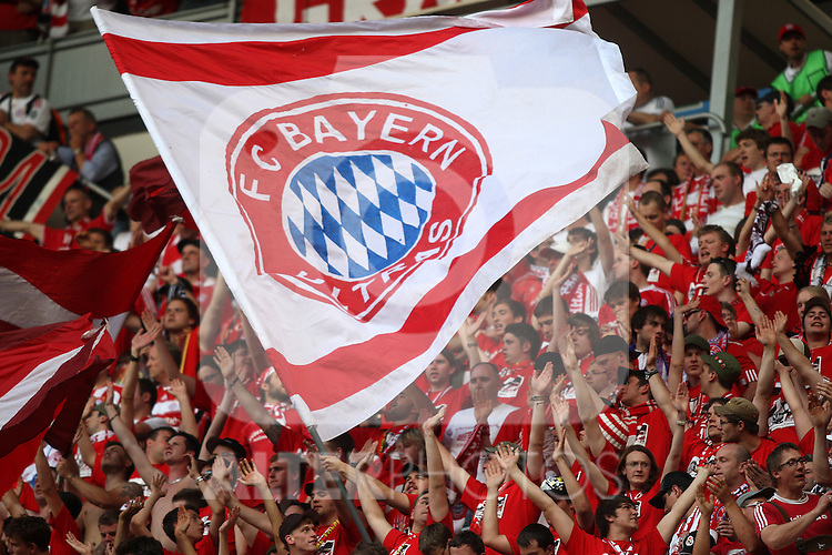 Bayern Munich's supporters during UEFA  Champions League final. May 22, 2010. (ALTERPHOTOS/Alvaro Hernandez)