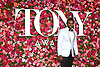 Joshua Henry arrives at The 72nd Annual Tony Awards on June 10, 2018 at Radio City Music Hall in New York, New York, USA. <br /> <br /> photo by Robin Platzer/Twin Images<br />  <br /> phone number 212-935-0770