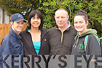 Amber, Liz and Tim Galwey with Michelle Reidy at the Good Friday walk in Castleisland ..