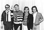 Cheap Trick 1982 Bun E Carlos, Rick Nielsen, Robin Zander and Jon Brant.© Chris Walter.