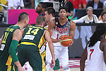 11.09.2014 Barcelona. FIBA Basketball World Cup. Semi-Finals. Picture show A. Davis in action during game Usa v Lithuania at Palau St. Jordi