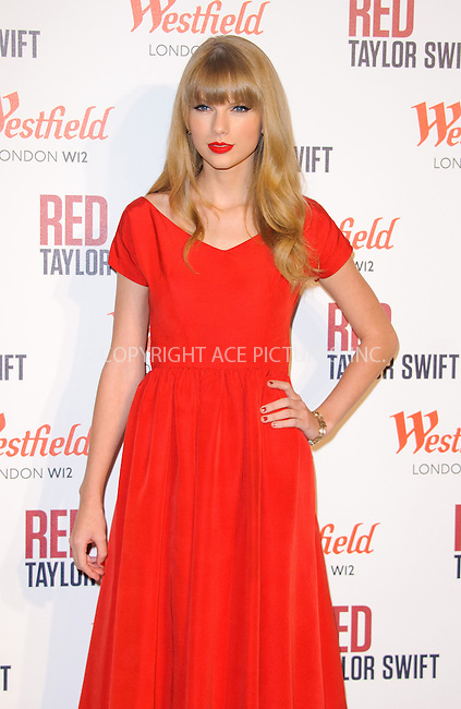 WWW.ACEPIXS.COM....US Sales Only....November 6 2012, London....Taylor Swift at the Westfield London Christmas Lights ceremony on November 6 2012  in London....By Line: Famous/ACE Pictures......ACE Pictures, Inc...tel: 646 769 0430..Email: info@acepixs.com..www.acepixs.com