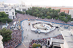 Real Madrid supporters waiting to Real Madrid during the celebration of the 13th UEFA Championship in Madrid, June 04, 2017. Spain.<br /> (ALTERPHOTOS/BorjaB.Hojas)