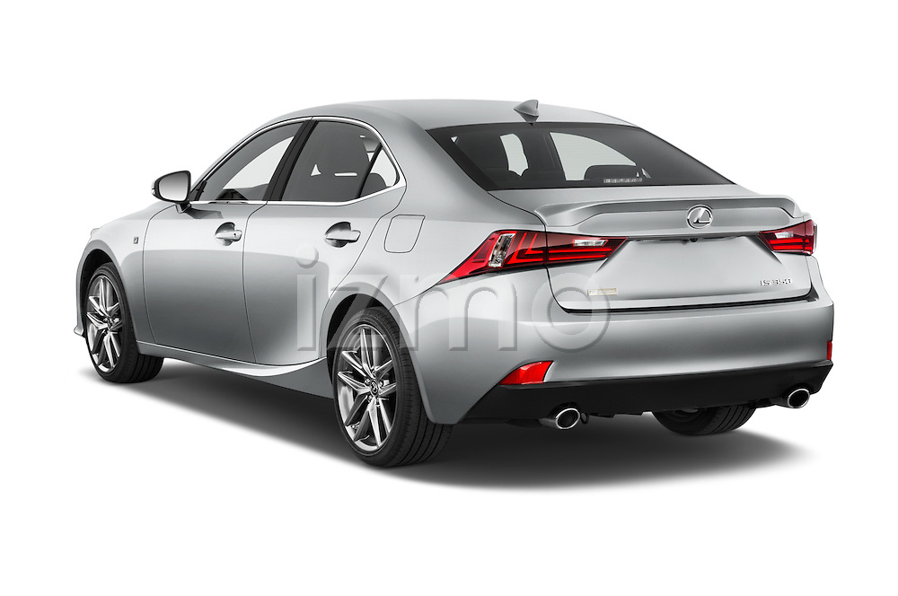 Car pictures of rear three quarter view of a 2015 Lexus IS 350 4 Door Sedan angular rear