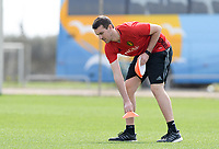 20180301 - LARNACA , CYPRUS :  Belgian Physical trainer Gil Benedetti pictured during a Matchday -1 training from The Belgian Red Flames prior to their game against Spain , on Thursday 1 March 2018 at the Alpha Sports Grounds in Larnaca , Cyprus . This will be the second game in group B for Belgium during the Cyprus Womens Cup , a prestigious women soccer tournament as a preparation on the World Cup 2019 qualification duels. PHOTO SPORTPIX.BE | DAVID CATRY