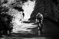 Michael Gogl (AUT/Trek-Segafredo) going hard at Team Trek-Segafredo Mallorca training camp <br /> <br /> January 2018
