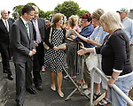 21/06/2013 Fifty years after President John Fitzgerald Kennedy famously visited Limerick, his daughter Caroline Kennedy today returned to the mid west to trace her fatherÂ's links and visit her ancestral family home in Bruff, Co.Limerick. Pic: Don Moloney/Press 22