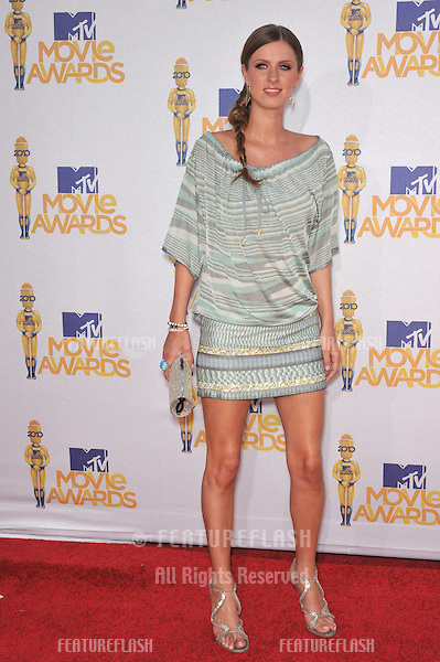 Nicky Hilton at the 2010 MTV Movie Awards at the Gibson Amphitheatre, Universal Studios, Hollywood..June 6, 2010  Los Angeles, CA.Picture: Paul Smith / Featureflash