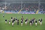 Ballyea players warming up ahead of their Munster Club hurling final at Thurles. Photograph by John Kelly.
