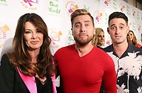 LSO ANGELES, CA - October 05: Lisa Vanderpump, Lance Bass, Michael Turchin, At 2017 Awareness Film Festival - Opening Night Premiere Of 'The Road To Yulin And Beyond' At Regal LA Live Stadium 14 In California on October 05, 2017. <br /> CAP/MPI/FS<br /> &copy;FS/MPI/Capital Pictures