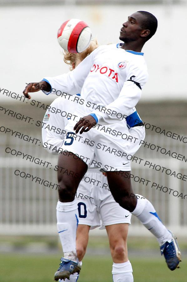 Fudbal, Super liga, season 2006/07<br /> Banat Vs. Crvena Zvezda<br /> Segundo Castillo<br /> Zrenjanin, 03.03.2007.<br /> fotoL Srdjan Stevanovic