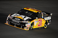 Oct. 15, 2009; Concord, NC, USA; NASCAR Sprint Cup Series driver Jeff Burton during qualifying for the Banking 500 at Lowes Motor Speedway. Mandatory Credit: Mark J. Rebilas-