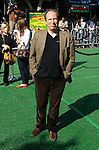 """WESTWOOD, CA. - October 26: Composer Hans Zimmer arrives at the premiere of Dreamworks' """"Madagascar: Escape 2 Africa"""" at the Mann Village Theater on October 26, 2008 in Los Angeles, California."""
