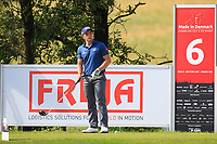 Paul Dunne (IRL)  on the 6th tee during Round 4 of Made in Denmark at Himmerland Golf &amp; Spa Resort, Farso, Denmark. 27/08/2017<br /> Picture: Golffile | Thos Caffrey<br /> <br /> All photo usage must carry mandatory copyright credit     (&copy; Golffile | Thos Caffrey)