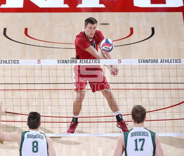 Stanford, CA; Tuesday December 29, 2015; Men's Volleyball, Stanford vs University of Saskatchewan.