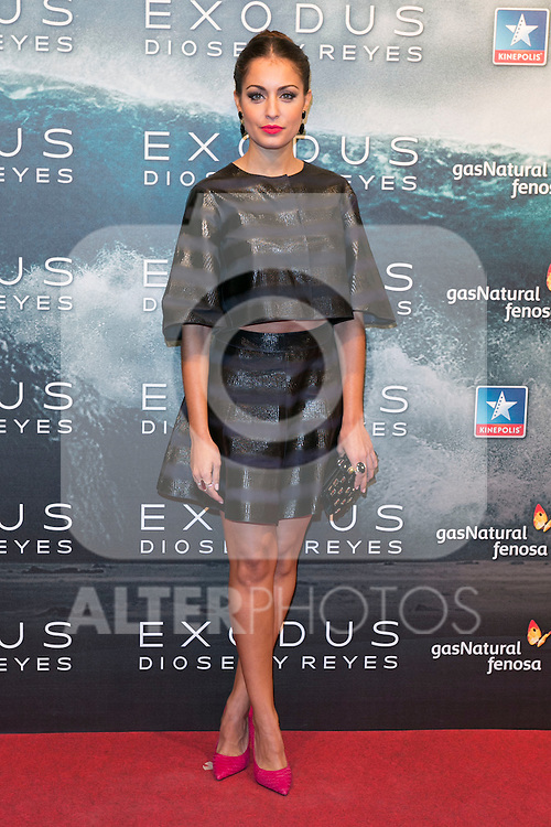 "Hiba Abouk attend the Premiere of the movie ""EXODUS: GODS AND KINGS"" at callao Cinema in Madrid, Spain. December 4, 2014. (ALTERPHOTOS/Carlos Dafonte)"