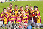 SQUAD: A full squad by Duagh Under 12 Team as they played in the County Board Under 12 Hurling Blitz at Ballyduff on Monday. Front l-r: Amanda and Bobby Loughlin and Shauna Lane. Back l-r: Dylan O'Regan, Darren Loughlin, Diarmuid Kirby, Garry Horgan, Garry Vaughan, Darragh Mangan, Oisin Mangan and Eoin Lucey.