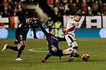 Rayo Vallecano's XXX and CD Leganes's XXX during La Liga match between Rayo Vallecano and CD Leganes at Vallecas Stadium in Madrid, Spain. February 04, 2019. (ALTERPHOTOS/A. Perez Meca)