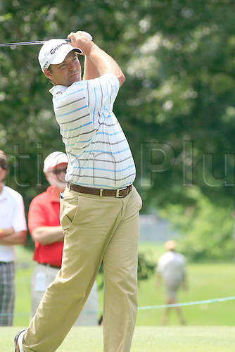 June 13, 2009:  Dicky Pride in action during the third round of the St. Jude Classic, held at TPC Southwind in Memphis, Tennessee..(Photo: Danny Murphy/ActionPlus) UK Editorial Licenses Only