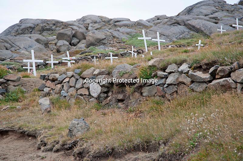 Cemetery Kulusuk Greenland