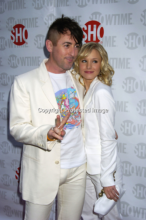 "Alan Cumming and Kristen Bell ..at the New York Premiere of Showtimes ""Reefer Madness"" ..on April 10, 2005 at the Directors Guild of America Theatre...Broadway Cares/Equity Fights Aids was benefitting from the Premiere. ..Photo by Robin Platzer, Twin Images"