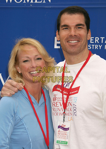 BRANDON MOLALE.14th Annual Entertainment Industry Foundation Revlon Run/Walk For Women held at The Los Angeles Memorial Coliseum, Los Angeles, California, USA,.12 May 2007..half length.CAP/ADM/RE.©Russ Elliot/AdMedia/Capital Pictures.