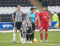St Mirren v Aberdeen Scottish Cup 120311