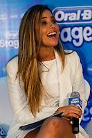 ATENÇÃO EDITOR: FOTO EMBARGADA PARA VEÍCULOS INTERNACIONAIS. SAO PAULO SP, 24 DE SETEMBRO DE 2012. COLETIVA DE IMPRENSA DA ORAL-B STAGES.  A cantora Wanessa Camargo durante a entrevista coletiva da marca Oral-B Stages no WTC, zona sul da capital paulista na tarde desta segunda feira. FOTO ADRIANA SPACA/BRAZIL PHOTO PRESS