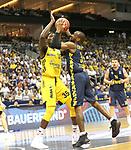 05.06.2019, Mercedes Benz Arena, Berlin, GER, ALBA BERLIN vs.  Oldenburg, <br /> im Bild Landry Nnoko (ALBA Berlin #35), William Cummings (Baskets Oldenburg #3)<br /> <br />      <br /> Foto © nordphoto / Engler
