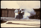 D&amp;RGW #473 K-28 at roundhouse in Durango.<br /> D&amp;RGW  Durango, CO