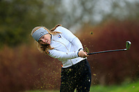 Andrea Bergsdottir (Iceland) during the Irish Girls' Open Stroke Play Championship, Roganstown Golf Club, Swords, Ireland. 13/04/2018.<br /> Picture: Golffile | Fran Caffrey<br /> <br /> <br /> All photo usage must carry mandatory copyright credit (&copy; Golffile | Fran Caffrey)