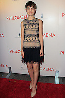 "NEW YORK, NY - NOVEMBER 12: Sami Gayle at the New York Premiere Of The Weinstein Company's ""Philomena"" held at Paris Theater on November 12, 2013 in New York City. (Photo by Jeffery Duran/Celebrity Monitor)"