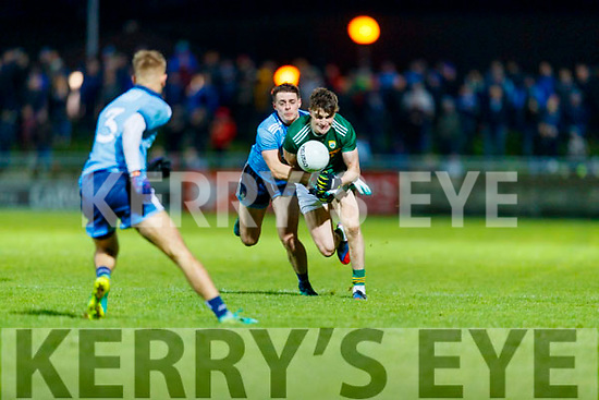 Sean O'Shea Kerry in action against Brian Howard  Dublin during the Allianz Football League Division 1 Round 3 match between Kerry and Dublin at Austin Stack Park in Tralee, Kerry on Saturday night.