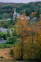 South Woodbury Congregational Church<br /> South Woodbury<br /> Washington County<br /> New England,  Vermont