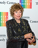 Shirley MacLaine arrives for the formal Artist's Dinner honoring the recipients of the 2013 Kennedy Center Honors hosted by United States Secretary of State John F. Kerry at the U.S. Department of State in Washington, D.C. on Saturday, December 7, 2013. The 2013 honorees are: opera singer Martina Arroyo; pianist,  keyboardist, bandleader and composer Herbie Hancock; pianist, singer and songwriter Billy Joel; actress Shirley MacLaine; and musician and songwriter Carlos Santana.<br /> Credit: Ron Sachs / CNP