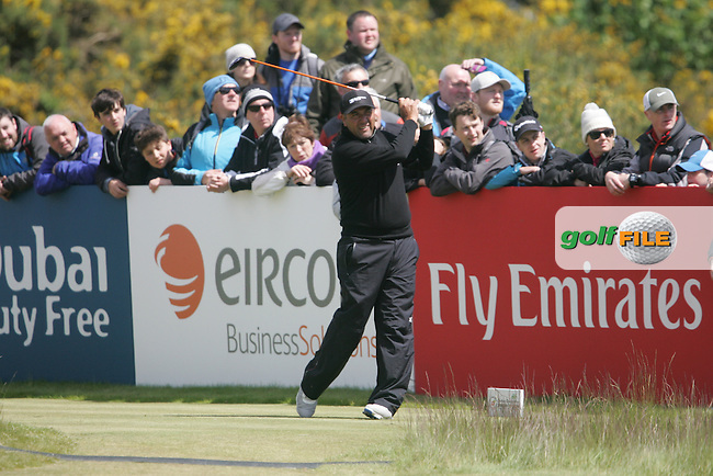 Ricardo GONZALEZ (ARG) on the 17th tee during the final round of the 2015 Dubai Duty Free Irish Open hosted by the Rory Foundation, Royal County Down Golf Club, Newcastle Co Down, Northern Ireland. 31/05/2015<br /> Picture TJ Caffrey, www.golffile.ie