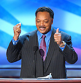 Boston, MA - July 29, 2004 -- Reverend Jesse Jackson speaks at the 2004 Democratic National Convention in Boston, Massachusetts on July 28, 2004..Credit: Ron Sachs / CNP