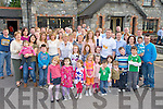 Edward O'Donoghue, Milltown, pictured with family and friends as he celebrated his 40th birthday in the Inn Between Bar, Beaufort on Sunday...