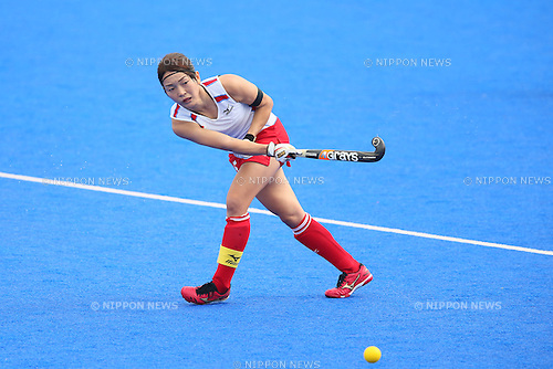Miyuki Nakagawa (JPN), <br /> SEPTEMBER 26, 2014 - Hockey : <br /> Women's Preliminary <br /> between Kazakhstan Women's 0-8 Japan Women's <br /> at Seonhak Hockey Stadium <br /> during the 2014 Incheon Asian Games in Incheon, South Korea. <br /> (Photo by YUTAKA/AFLO SPORT)