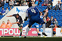 Filipe Morais of Stevenage shoots. Colchester United v Stevenage - npower League 1 - Weston Homes Community Stadium, Colchester - 13th October, 2012. © Kevin Coleman 2012