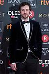 Raul Arevalo attends red carpet of Goya Cinema Awards 2018 at Madrid Marriott Auditorium in Madrid , Spain. February 03, 2018. (ALTERPHOTOS/Borja B.Hojas)