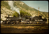 Side view D&amp;RGW #488 in Durango.<br /> D&amp;RGW  Durango, CO