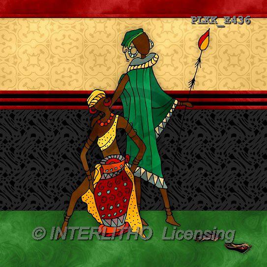 Kris, ETHNIC, paintings+++++,PLKKE436,#ethnic# Africa