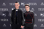 Spanish designer David Delfin (L) and Pelayo Diaz Zapico attend the Telva Magazine Fashion Awards 2013 at the Palacio de Cibeles in Madrid, Spain.. December 02, 2013. (ALTERPHOTOS/Caro Marin)
