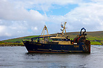 Fishing trawler Cu na Mara in Dingle, Kerry, Ireland
